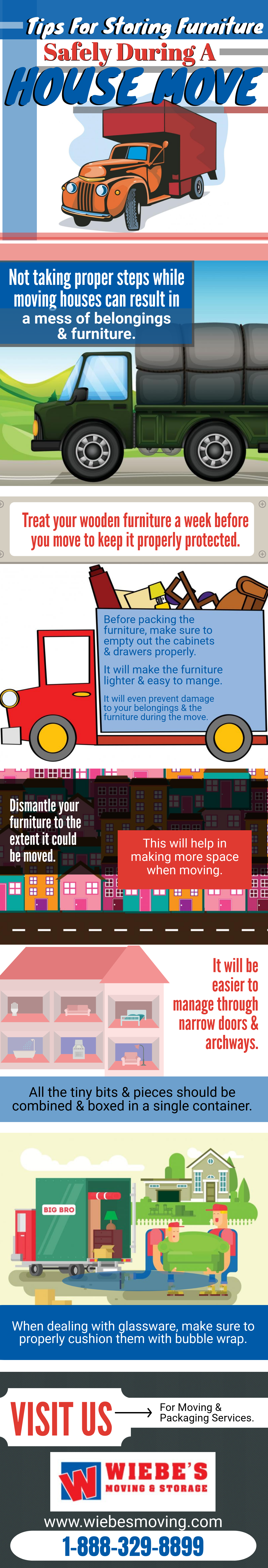 Storing Furniture Safely During A House Move