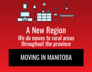 A New Region: We do moves to rural areas throughout the province: Moving in Manitoba