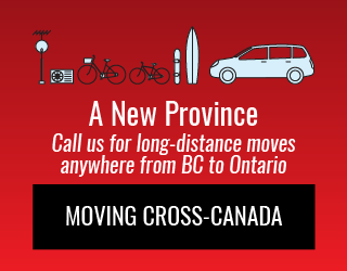 A New Province: Call us for long-distance moves anywhere from BC to Ontario: Moving Cross-Canada